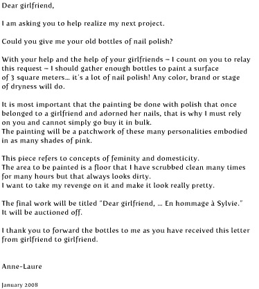 anne-laure oberson letter